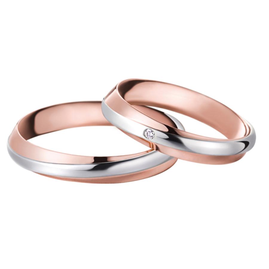 abbastanza OFFICINA DEL GIOIELLO | Fedi matrimoniali oro bianco, oro rosa e  TC69