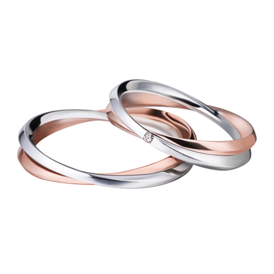 Très OFFICINA DEL GIOIELLO | Fedi matrimoniali oro bianco, oro rosa e  LT17